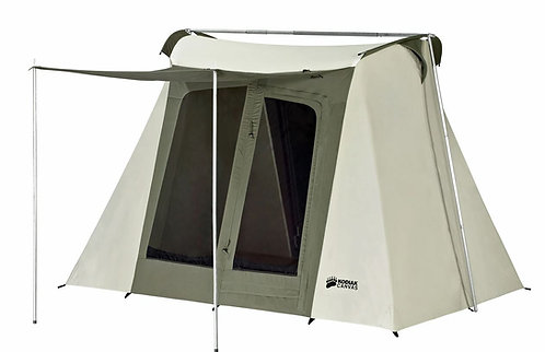 9 x 8 ft. Flex-Bow Canvas Tent - Deluxe -