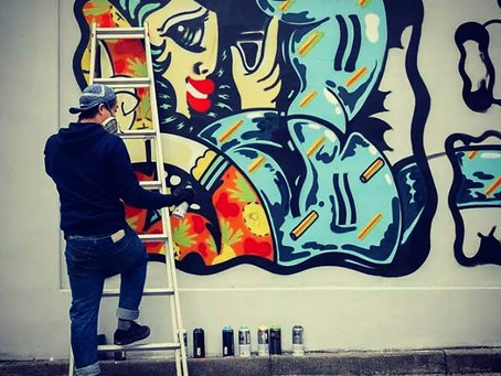 NEWLY ADDED: URBAN ARTIST LIAR BEN, CƠM HỘP SAIGON