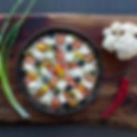 lillkapsapõhjaga pizza
