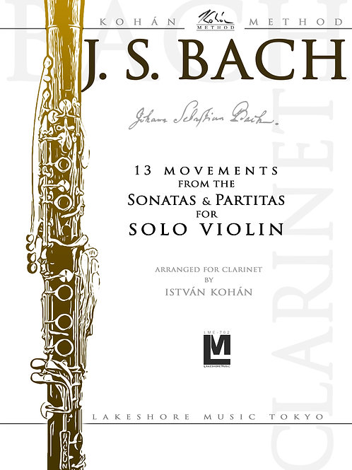 J.S. Bach - 13 movements from the Sonatas Partitas for Solo Violin