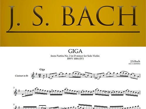 Giga - from Partita No. 2 in D minor