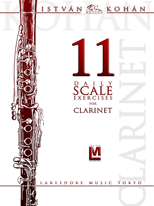 Kohán: 11 daily exercises for clarinet (solo or duo) PDF