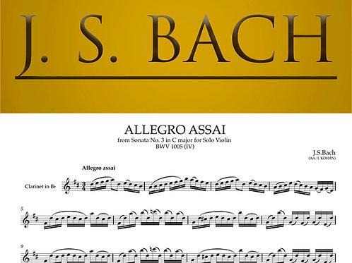 Allegro assai - from Sonata No. 3 in C major