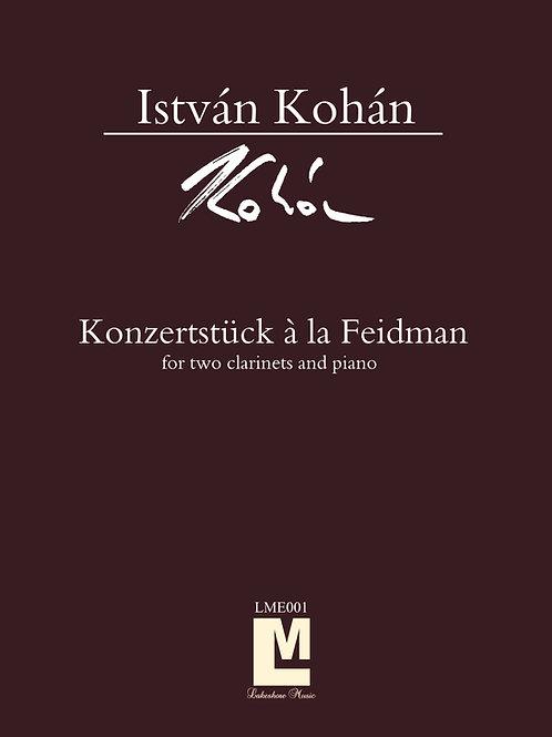 Konzertstück  á la Feidman /ファイドマン風演奏会用小品