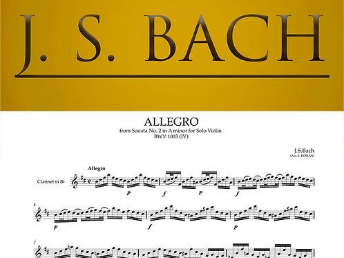 Allegro - from Sonata No. 2 in A minor