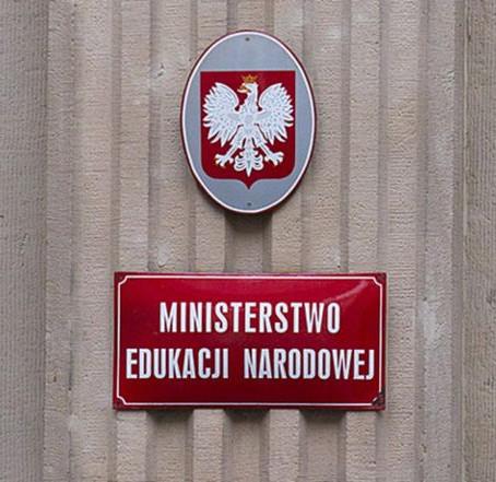 Za sterami Ministerstwa Edukacji