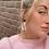 Thumbnail: Lilo - vrolijke statement oorbellen met stippenprint