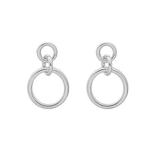 Girl power - earrings in gold/silver
