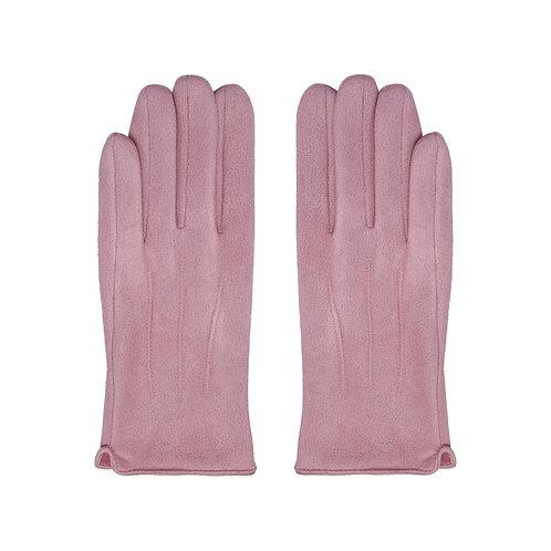 Heat - handschoenen in roze/zwart