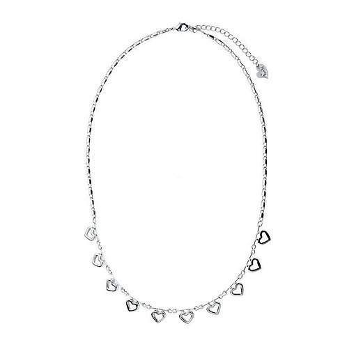 I love you 10 times more - necklace in silver/gold