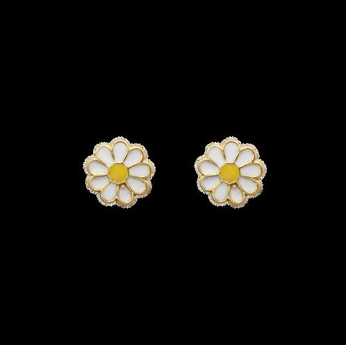 À la daisy pin earrings