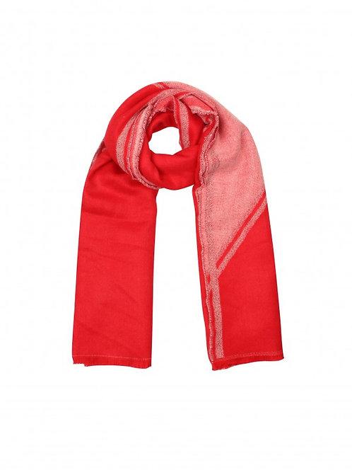 Perfect colors - sjaal in rood en roze