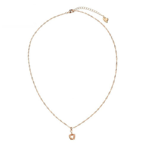 Girls rule - necklace in gold/silver