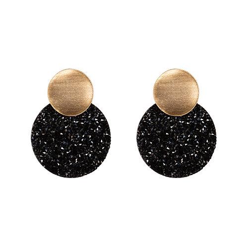 All that glitters - oorbellen in zilver/goud