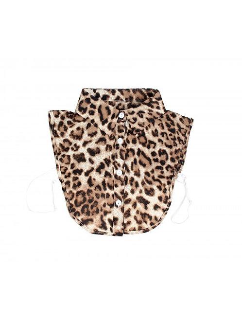 Bruin leopard kraagje