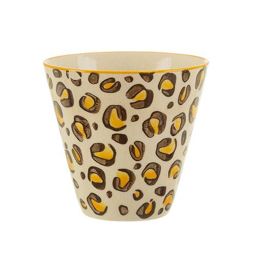 Leopard love planter van Sass & Belle