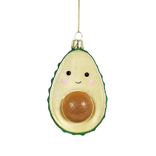 Baby avocado - shimmer bauble