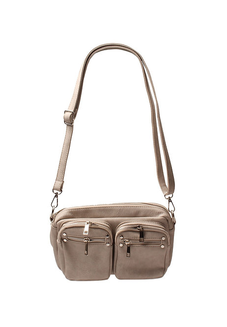 Handtas in taupe