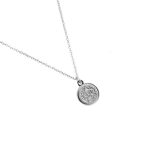 Sweet coin - necklace in gold/silver