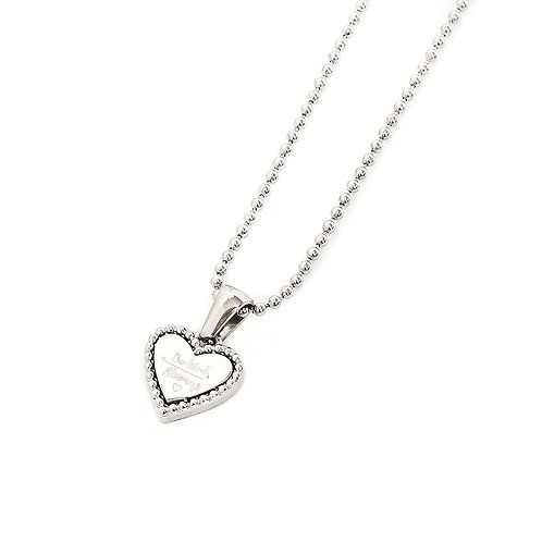 Be kind, always - ketting in RVS zilver/goud