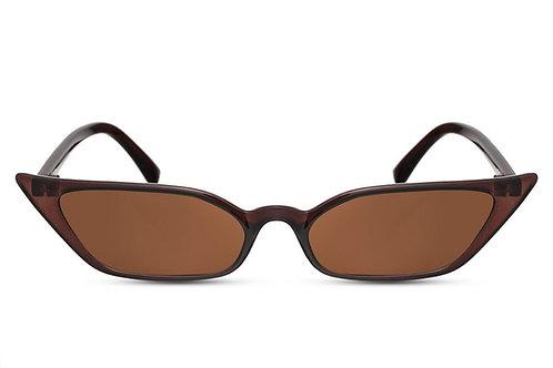 Gina - zonnebril (bruin)