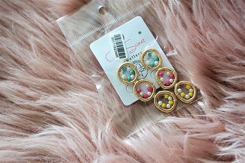Candyshop - oorbellen in goud