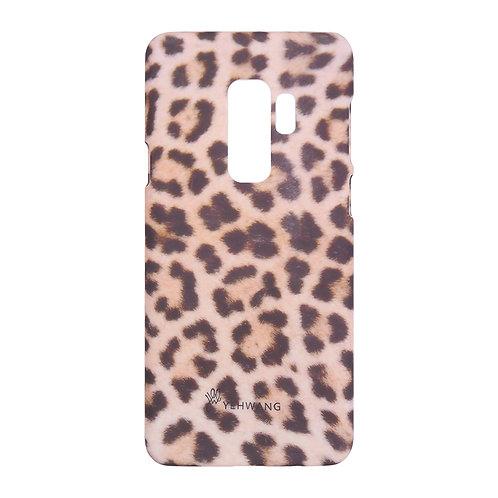 Samsung telefoonhoesje in panterprint/leopard print (S9+)