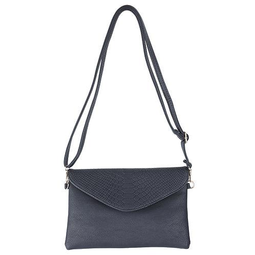 Always a match - clutch bag in zwart/grijs