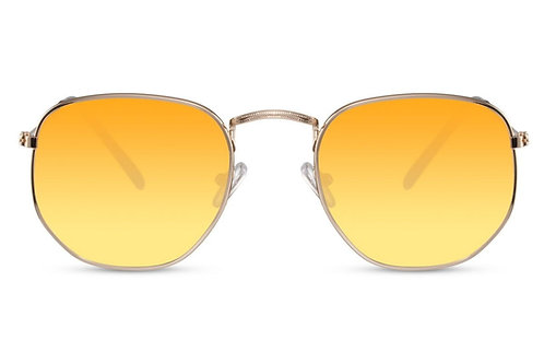 Zoë - zonnebril (geel)