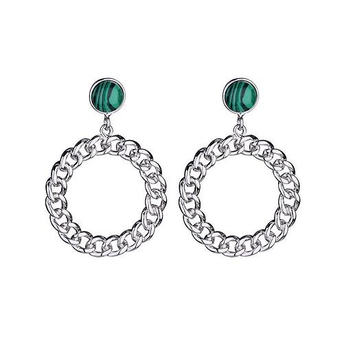 Bling bling - earrins in silver