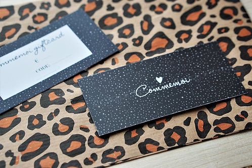COMMEMOI GIFTCARD €10,-