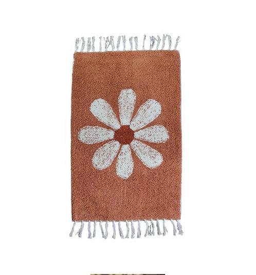 Bath mat daisy