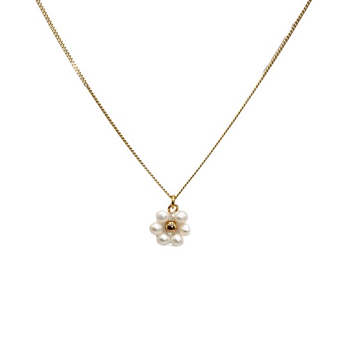 Daisy fresh water pearl necklace