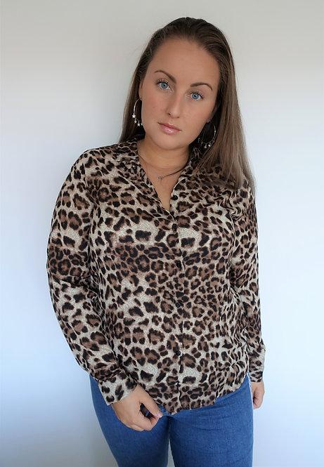 IT FEELS SO GOOD - leopard blouse