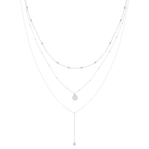 Love to layer - ketting in zilver/goud
