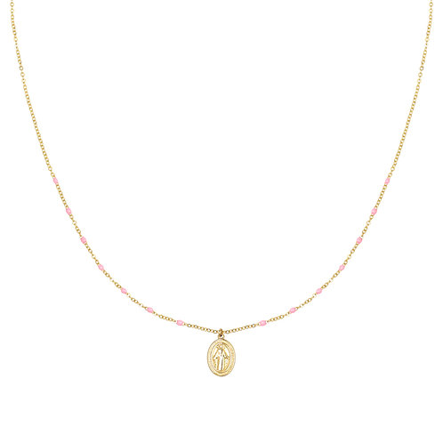 Fulfilling life - necklace in silver/gold