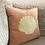 Thumbnail: Velvet cushion embroidered shell