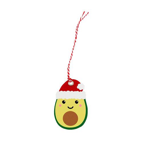 AVO MERRY CHRISTMAS - set van 6 gift tags van Sass and Belle