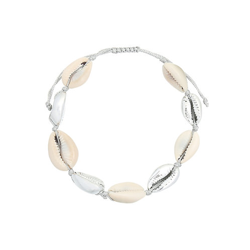 Summer paradise - schelpen armband in zilver/goud/normaal