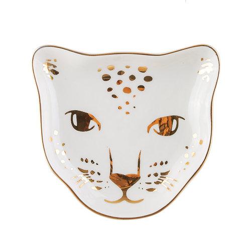 Leopard (sieraden) schaaltje van Sass & Belle