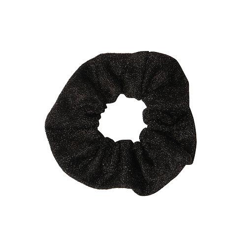 Glitter scrunchie (zwart)