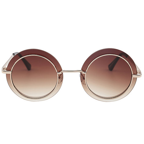 You're favorite girl - sunglasses in pink/brown