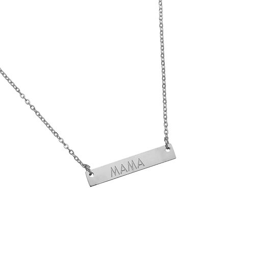 MAMA - necklace in RVS gold/silver