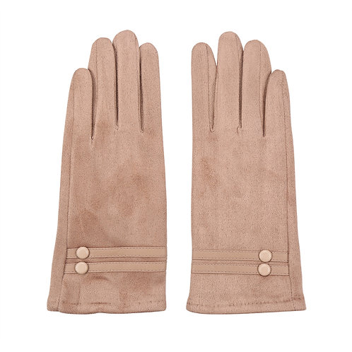 Miss natural - gloves in brown
