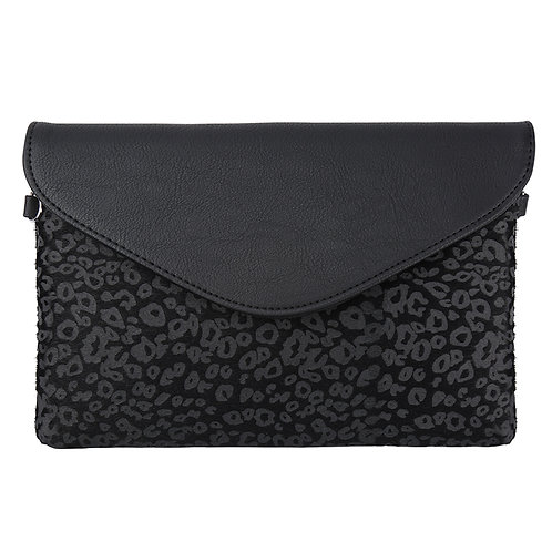 That little extra - clutch bag in leopard black