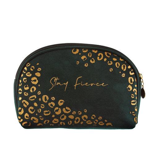 Leopard, stay fierce - cosmetic bag