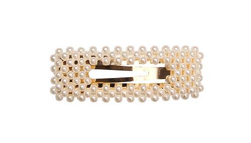 Lady - haarclip met parels (goud)