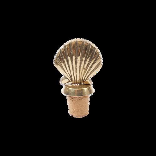 Shell bottle stopper