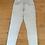 Thumbnail: Lois - straight leg jeans met textuur in lichtblauw