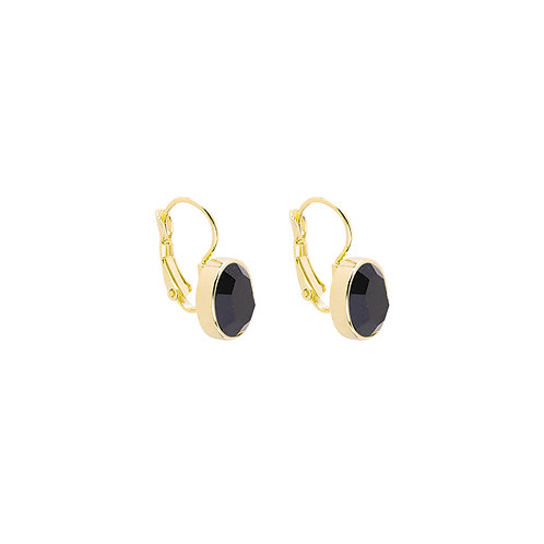 Date night - earrings in gold